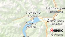Отели города Локарно на карте
