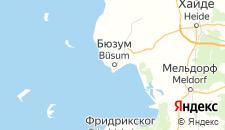 Отели города Бюзум на карте