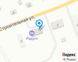 Схема местоположения почтового отделения 658763