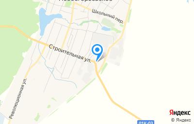 Местоположение на карте пункта техосмотра по адресу Алтайский край, с Новоегорьевское, ул Молодежная, д 43