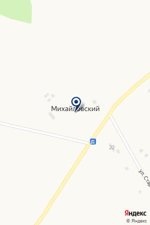 МОУ МИХАЙЛОВСКАЯ ШКОЛА СРЕДНЕГО ОБЩЕГО ОБРАЗОВАНИЯ на карте Чулыма