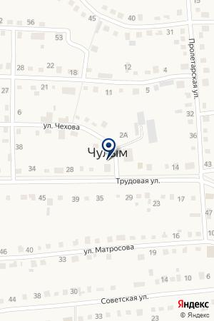 СТО АВТОЛИЦЕЙ на карте Чулыма
