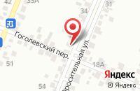Схема проезда до компании Волгоградмелиоводхоз в Береславке