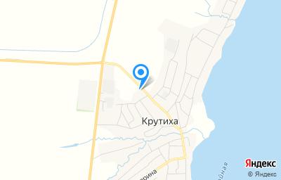Местоположение на карте пункта техосмотра по адресу Алтайский край, с Крутиха, ул Северная, д 33