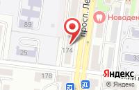 Схема проезда до компании Стор в Рубцовске