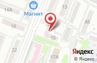 Схема проезда до компании Комплект в Рубцовске
