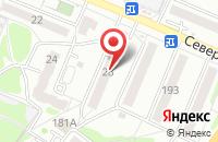 Схема проезда до компании Момент в Рубцовске