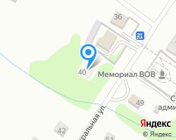 Схема местоположения почтового отделения 658244