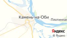 Отели города Камень-на-Оби на карте