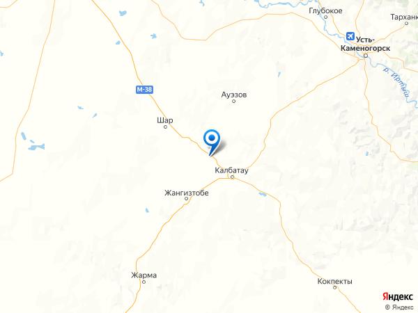 деревня Покровка на карте