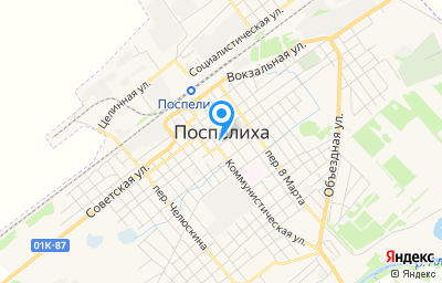 Местоположение на карте пункта техосмотра по адресу Алтайский край, с Поспелиха, тер Северной окраины, д 4