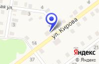 Схема проезда до компании ПРОДОВОЛЬСТВЕННЫЙ МАГАЗИН ВОСХОД в Ордынском