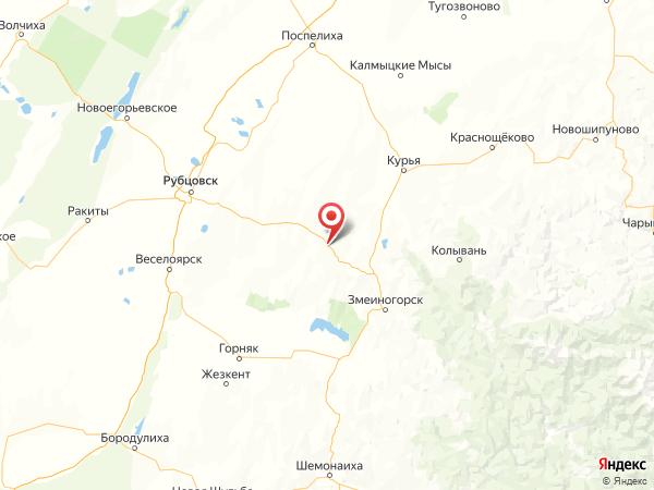 село Никольск на карте