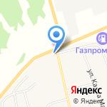 Виктория на карте Новосибирска
