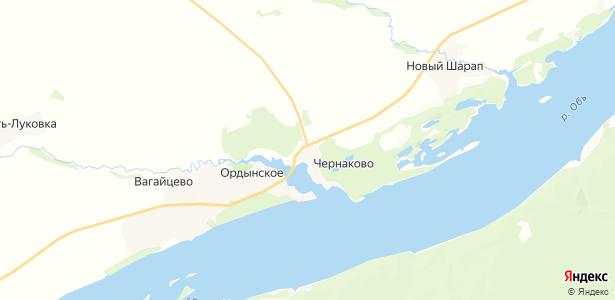 Чернаково на карте