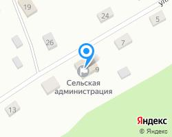 Схема местоположения почтового отделения 658537