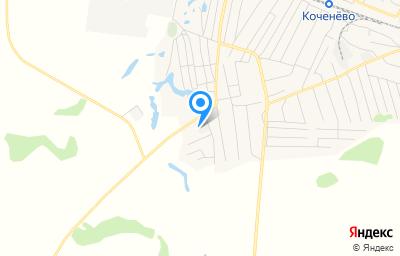 Местоположение на карте пункта техосмотра по адресу Новосибирская обл, рп Коченево, ул Рабочая, д 90