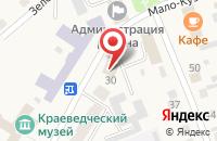 Схема проезда до компании Почта Банк в Коченево