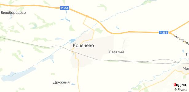Коченево на карте