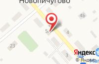 Схема проезда до компании Экспресс-оплата в Новопичугово