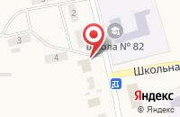 Схема проезда до компании Продуктовый магазин в Новошилово