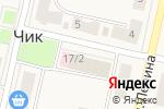 Схема проезда до компании Магазин одежды в Чике