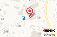 Схема проезда до компании Ромашка в Прокудском