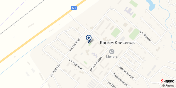 Отдел миграционной полиции на карте Касыме Кайсеновой