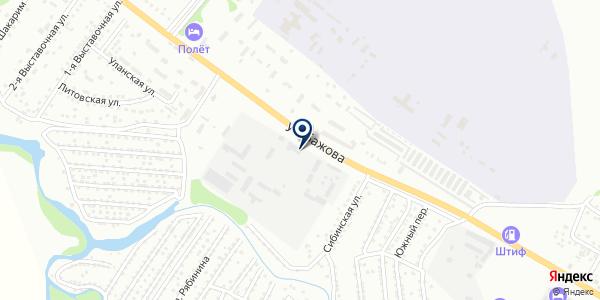 Центр установки газового оборудования на карте Усть-Каменогорске