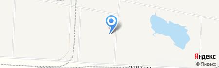 Роса на карте Алексеевки