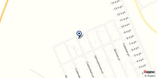 Витязь на карте Криводановке