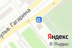 Схема проезда до компании Tennisi.kz в Усть-Каменогорске
