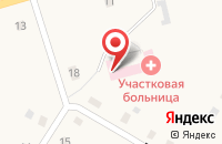 Схема проезда до компании Быстровская участковая больница в Быстровке