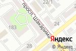 Схема проезда до компании Радуга-net в Усть-Каменогорске