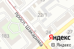 Схема проезда до компании ПРОФИ-ШАНС в Усть-Каменогорске