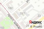 Схема проезда до компании Прага в Усть-Каменогорске