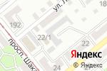 Схема проезда до компании ГЕФЕСТ в Усть-Каменогорске