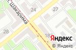 Схема проезда до компании ПМК Промэлектросвязь в Усть-Каменогорске