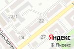 Схема проезда до компании ТОП-мебель, ТОО в Усть-Каменогорске