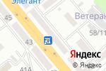 Схема проезда до компании Тимошка в Усть-Каменогорске