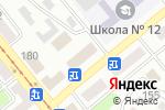 Схема проезда до компании Северная бухта в Усть-Каменогорске