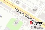 Схема проезда до компании Дукат в Усть-Каменогорске