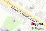 Схема проезда до компании М-студия в Усть-Каменогорске