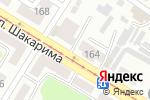 Схема проезда до компании Багратион в Усть-Каменогорске