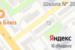 Схема проезда до компании Mona Liza в Усть-Каменогорске