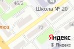 Схема проезда до компании ПельMEN в Усть-Каменогорске