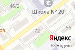 Схема проезда до компании Жулдыз в Усть-Каменогорске
