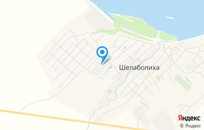 Местоположение на карте пункта техосмотра по адресу Алтайский край, с Шелаболиха, ул Новая, влд 2Б