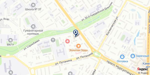 INTV.KZ на карте Усть-Каменогорске