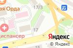 Схема проезда до компании Патриса Лумумбы 17, ПКСК в Усть-Каменогорске